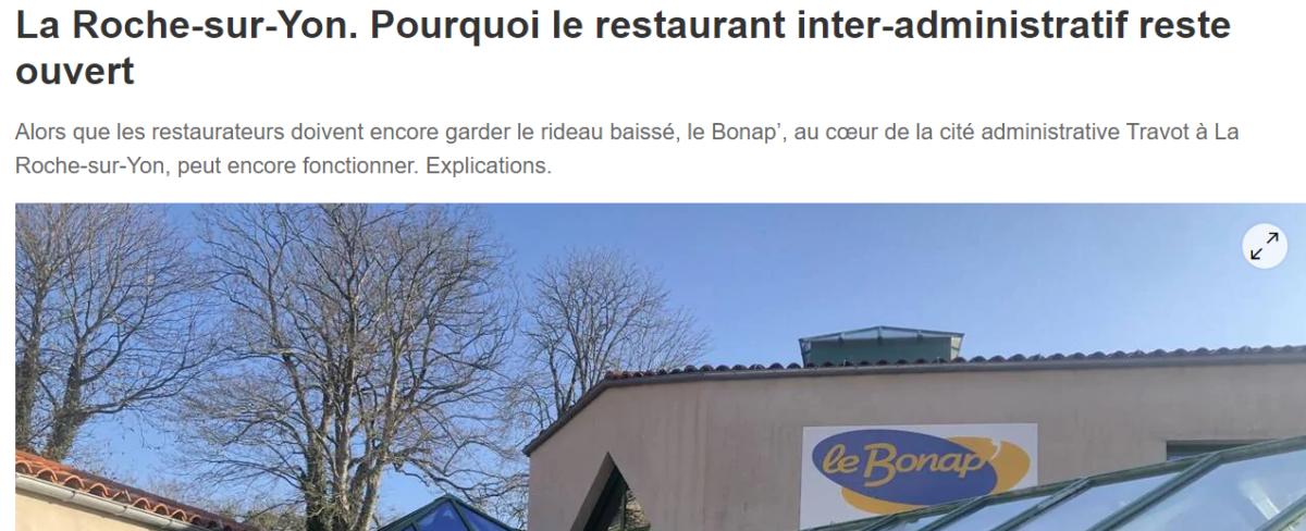 Lu dans le Ouest France
